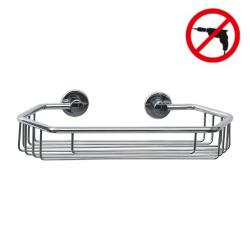 Draad Panier de bain/douche, aluminium chromé, pose facile sans perçage (40228-00000-00)