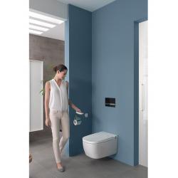 V-Care 1.1 Smart Essential WC lavant avec commande à distance + Multifonctions personnalisables, 100% hygiénique (5674B003-6193)