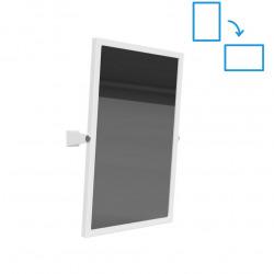 Zrcadlo výklopné 40x60 cm, bílá