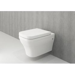 Pack WC Bâti autoportant + Cuvette Roma sans bride + Plaque Skate Air chrome + Set d'habillage (ProjectRoma-2-sabo)