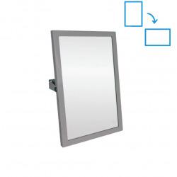 Zrcadlo výklopné 40x60 cm, nerez