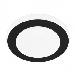 Carpi Plafonnier LED 30cm 3000K blanc chaud, Noir (33682)