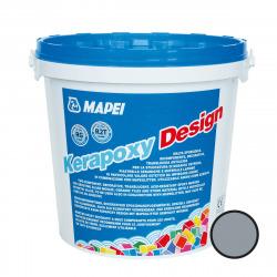 Kerapoxy Design Mortier époxy décoratif et antiacide, Gris perle (MAPXDESIGN3720)