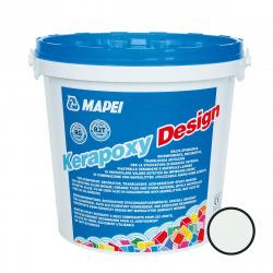 Kerapoxy Design Mortier époxy décoratif et antiacide, Blanc glacé (MAPXDESIGN3710)
