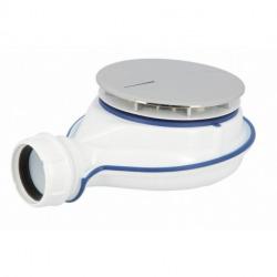 Nicoll Turboflow XS Bonde siphoïde pour receveur de douche - technologie Magnetech - Ø 90 mm (TurboFlow0205800)