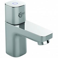 Lave main en céramique + Robinet eau froide, Chrome (V200101B073)