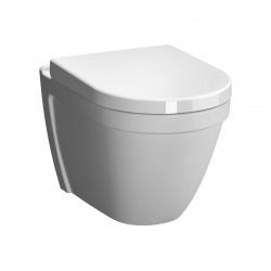 Pack WC Bâti-autoportant + WC Vitra S50 + Abattant softclose + Plaque blanche (AlcaVITRAS50-M270)