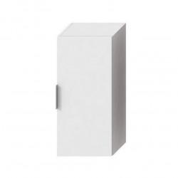 Cube Armoire de salle de bain 75cm avec porte fermeture softclose, Blanc (H4537111763001)
