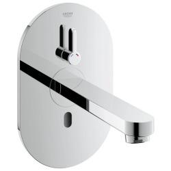 Eurosmart Cosmopolitan E Robinet infrarouge pour lavabo avec mitigeur et limiteur de température ajustable (36315000)