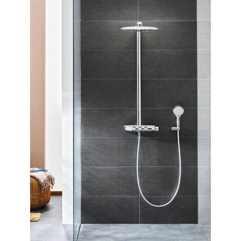 colonne de douche rainshower system smartcontrol 360 duo 26250000 livea sanitaire sas. Black Bedroom Furniture Sets. Home Design Ideas