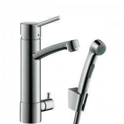 Hansgrohe Talis S2 - robinet avec douchette à main, chrome (31515000)
