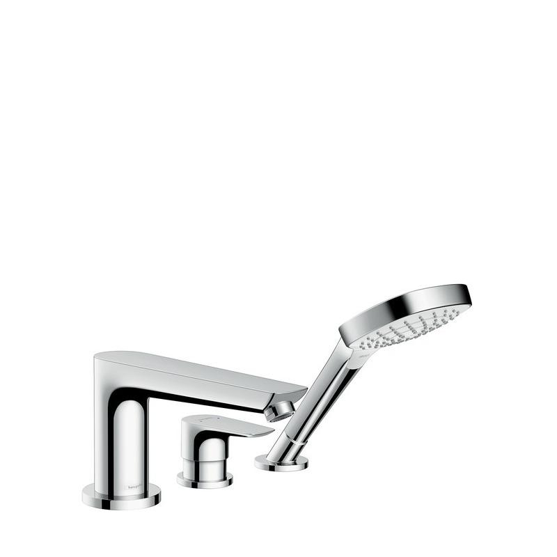 talis e set de finition mitigeur 3 trous pour montage sur bord de baignoire 71731000 livea. Black Bedroom Furniture Sets. Home Design Ideas