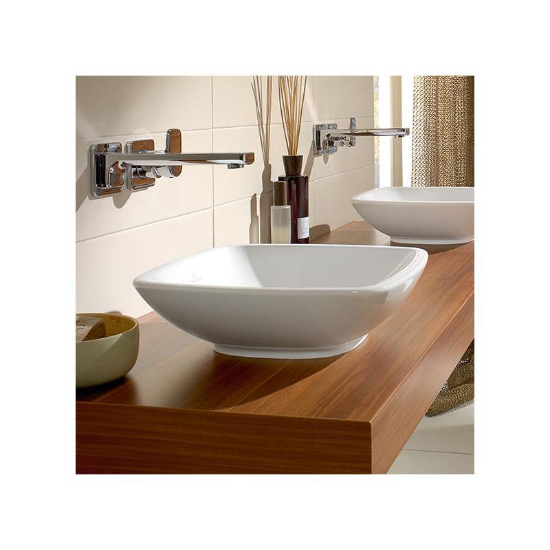 vasque poser loop friends 380x380 mm villeroy boch r f 514901r1 livea sanitaire sas. Black Bedroom Furniture Sets. Home Design Ideas