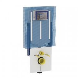 Montážní prvek Kombifix pro závěsné WC, s nádržkou Sigma 8 cm, s přípravou pro odsávaní zápachu