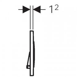 Sigma 20 nouveau modele acier inoxydable, brossé/poli (115.882. SN.1)