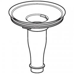 Adaptateur pour siphon pour urinoir Preda et Selva (116.058.00.1)