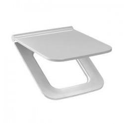 CUBITO PURE - Abattant Duraplast pour cuvette WC , 438x370x50mm, Blanc (H8934223000631)