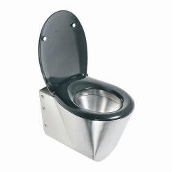 Nerezové závěsné WC