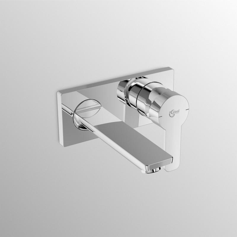 GIO - Façade de Mitigeur lavabo mural (A6107AA) - Livea Sanitaire SAS