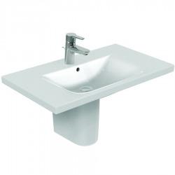 CONNECT Lavabo 850 mm porcelaine blanc IDEAL PLUS (E8127MA)