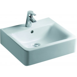 CONNECT Lavabo Cube 500 x 460 x 170 mm blanc (E713801)