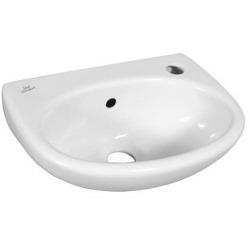 EUROVIT Lave-mains 350 x 260 x 155 mm, ouverture droite , blanc (E147901)