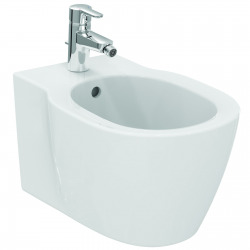 CONNECT Bidet suspendu avec fixation cachée, porcelaine IDEAL PLUS (E7722MA)