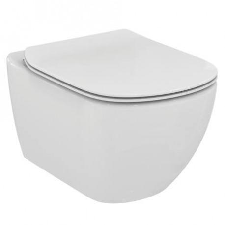 tesi cuvette suspendue avec abattant classique fixation invisible t354201 livea sanitaire sas. Black Bedroom Furniture Sets. Home Design Ideas
