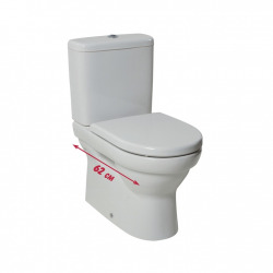 TIGO - Pack WC à poser, avec option VARIO et JIKA perla