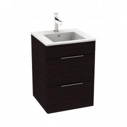 CUBE - Vanity Unit Meuble 2 tiroirs + Lavabo (H4536221763021)