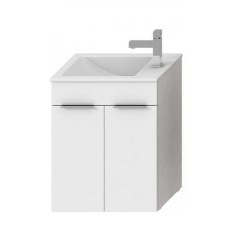 CUBE - Vanity Unit Meuble 2 portes + Lavabo (H4536411763001)