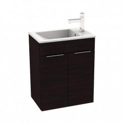 CUBE - Vanity Unit Meuble 2 portes + Lavabo (H4536411763021)
