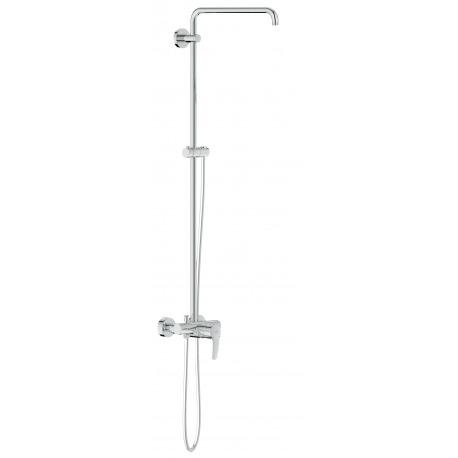 Euphoria new colonne de douche avec mitigeur monocommande 26240000 livea sanitaire sas - Colonne de douche avec mitigeur ...