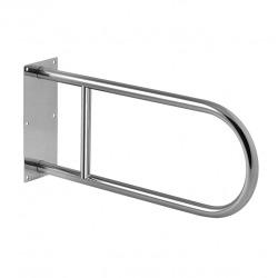 Barre d'appui WC en acier inoxydable, 900mm (SLZM 03D)