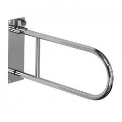 Barre d'appui WC en acier inoxydable, 550mm (SLZM 03SX)