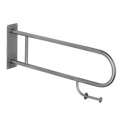 Barre d'appui WC en acier inoxydable, 830mm (SLZM 03SDP)