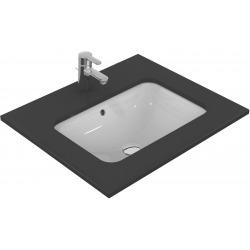 CONNECT Lavabo à sous-encastrer rectangulaire 580 x 175 x 410 mm, blanc (E506101)
