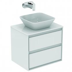 CONNECT AIR Meuble pour lavabo-plan Couleur chêne grisé 517 x 600 x 440 mm (E0818PS)