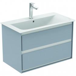 CONNECT AIR Meuble pour lavabo-plan 517 x 800 x 440 mm Couleur Chêne grisé (E0819PS)
