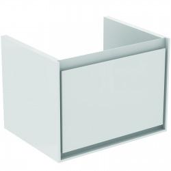 CONNECT AIR Meuble pour lavabo Cube 60 cm, 400 x 535 x 412 mm, Couleur Gris plume brillant (E0846EQ)