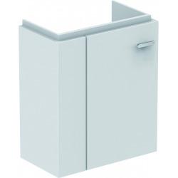 CONNECT SPACE Meuble lave-mains 450 mm gauche pour lave-mains (E132201) 436 x 520 x 243 mm Couleur Blanc laqué (E0370WG)