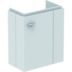 CONNECT SPACE Meuble lave-mains 436x520x243 mm droite Couleur Blanc laqué (E0371WG)