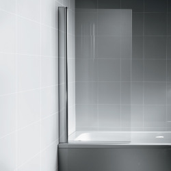 Pare-bain rectangulaire, chrome (L6210AA)