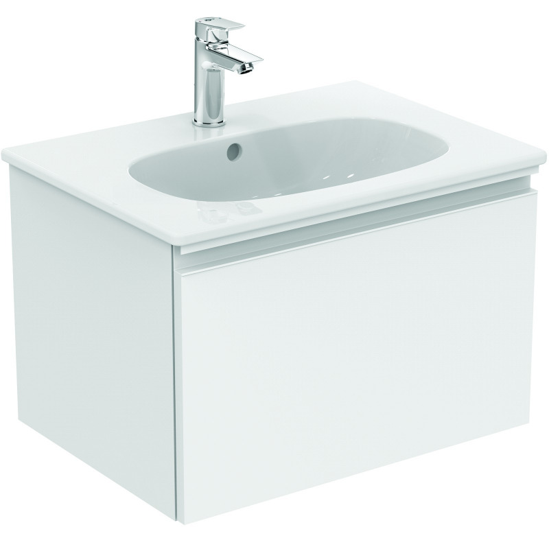 Ideal Standard Lavabo Tesi.Ideal Standard Tesi Lavabo Plan 62 5 X 45 Cm Blanc T351001
