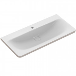 TONIC II Lavabo-plan 101,5 x 49 cm blanc IdealPlus (K0862MA)