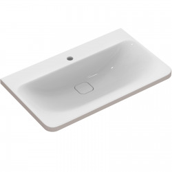 TONIC II Lavabo-plan 81,5 x 49 cm blanc IdealPlus (K0839MA)