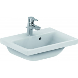 Connect Space lavabo blanc IdealPlus 500 x 175 x 380 mm (E1323MA)