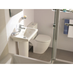 Connect Space Lavabo blanc 550 x 175 x 380 mm