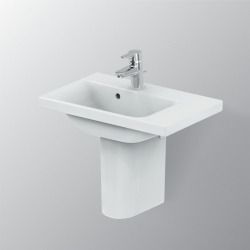 Connect Space Lavabo 600 x 175 x 380 mm Couleur blanc version droite (E132601)