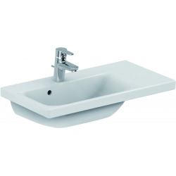 CONNECT SPACE Lavabo Space 700 mm droite blanc IdealPlus 700 x 175 x 380 mm (E1328MA)